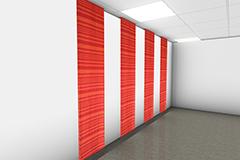 Qwaiet Compact Stripe Wall