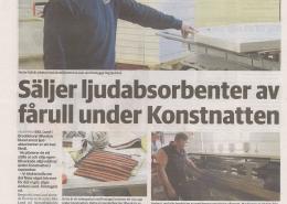 Artikel Falköpingstidning Konstnatten 2021